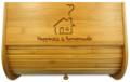 Homemade Wood Bread Box