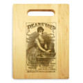 Pears Soap 9x12 Engraved Cutting Board Featuring Handle Maple Wood