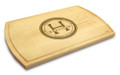 Family Seal 10x16 Grooved Monogram Cutting Board