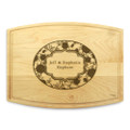 Petals 9x12 Grooved Chopping Board
