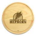 Wheat Grain 10in Circular Cutting Board Maple Made in USA
