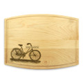 Bicycle2 9x12 Grooved Cutting Board