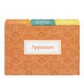 4x6 Tabbed Recipe Box Card Dividers - Agatha - 9 ea