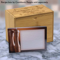 4x6 Recipe Card Salt and Pepper Brown 40ea