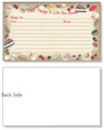3x5 Sweet Treats Recipe Card
