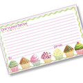 3 x 5 Why Not Have A Cupcake Recipe Card