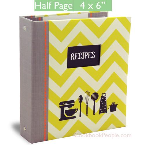 Half Page Cookbook Album - Kitchen Gear
