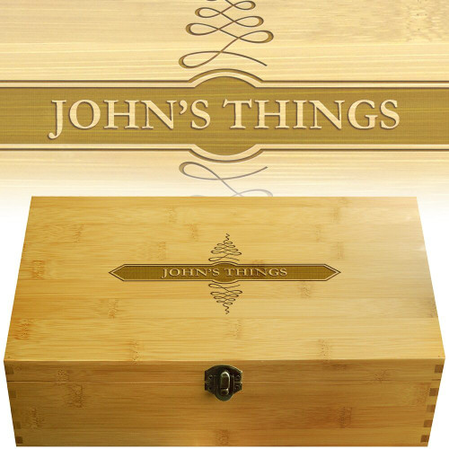 Apothecary Multikeep Personally Monogrammed Box