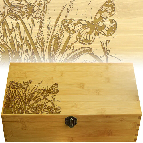 Butterflies Multikeep Box for Teas and Other Items