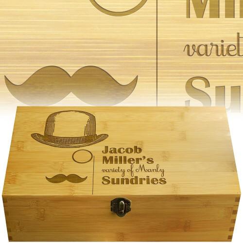 Manly Multikeep Tea Box