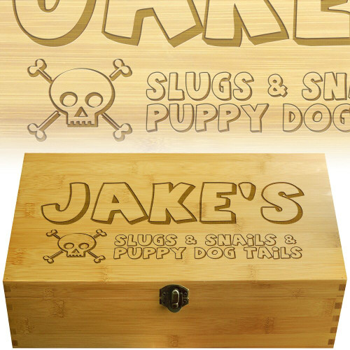 Slugs and Snails Multikeep Box for Teas and Other Items