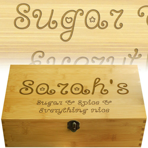 Sugar Spice Multikeep Nicknack Box