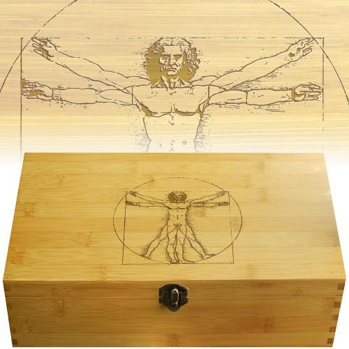 Vitruvian Man Multikeep Organizer Box