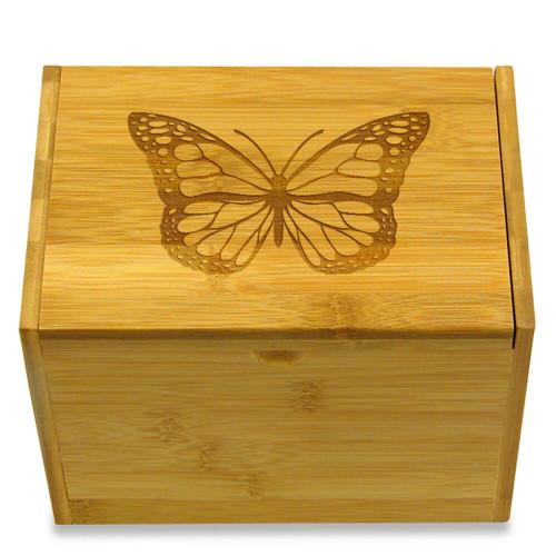 Butterfly 4x6 Recipe Card Box