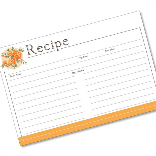 200  recipe cards to buy  sort by reviews  color  size