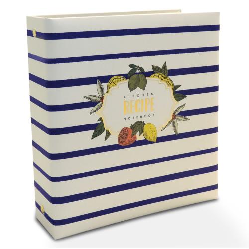 Half Page Cookbook Album - Lemon Drop
