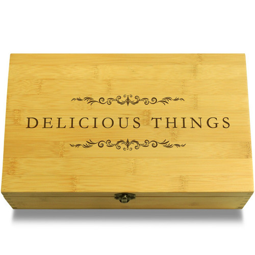 Delicious Things Filigree Chest Lid
