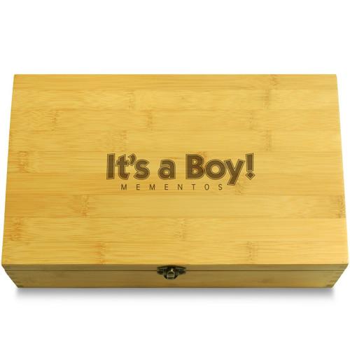 Its a Boy Box Lid