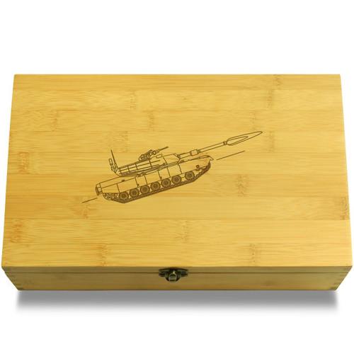 Army Tank Organizer Box Lid