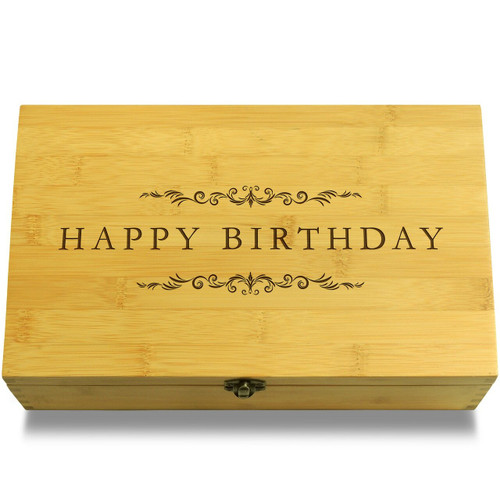 Happy Birthday Filigree Organizer Lid