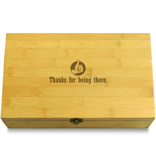 Thanks Man Thumb Organizer Box Lid