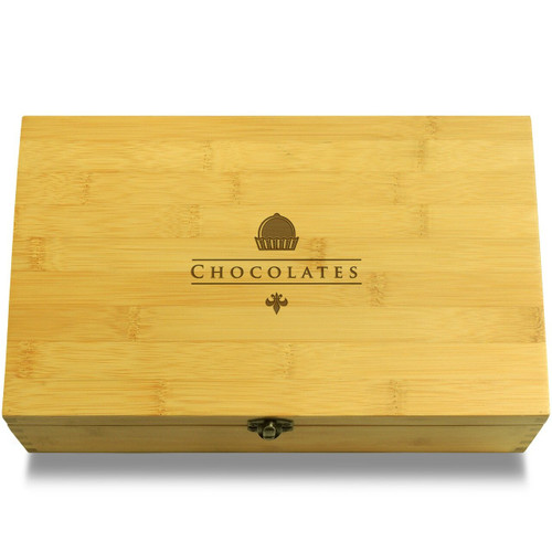 Chocolate Box Organizer Chest Lid