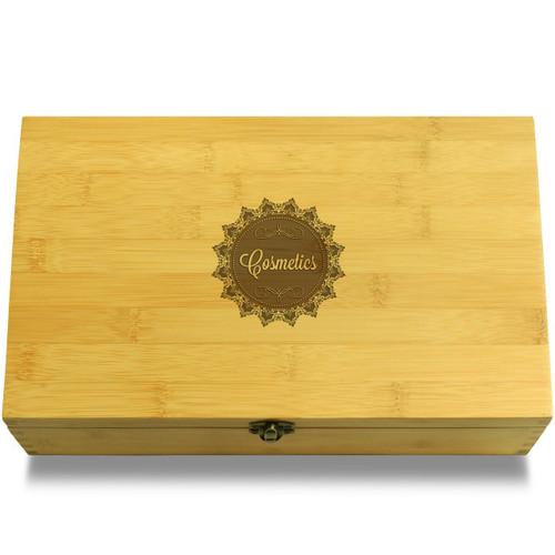 Cosmetics Doily Organizer Box Lid
