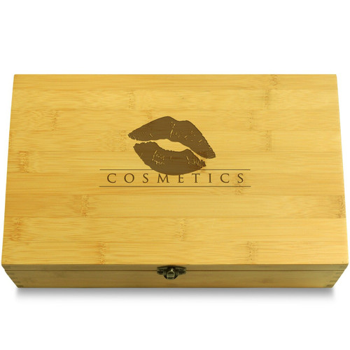 Kiss Lips Wooden Box Lid