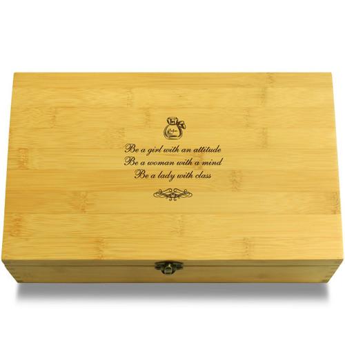 Be a Lady Organizer Box Lid