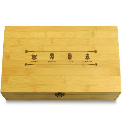 Knight Etching Organizer Box Lid