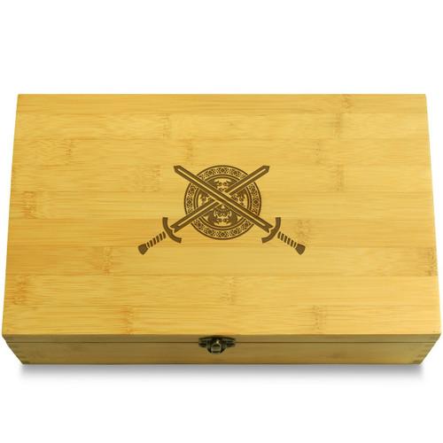 Swords Wooden Chest Lid