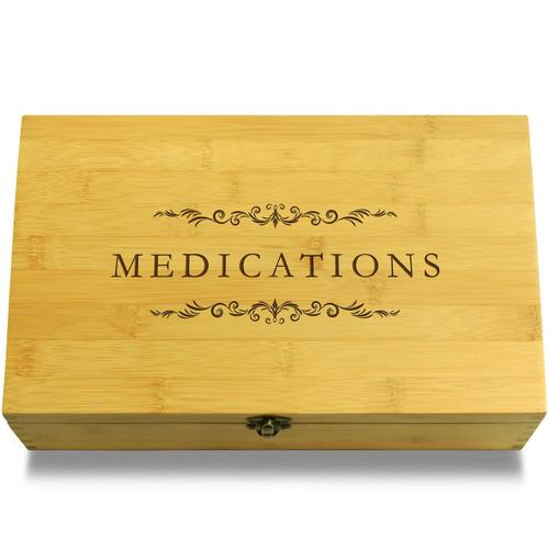 Medications Filigree Box Lid