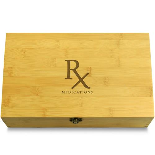 Rx Wooden Box Lid