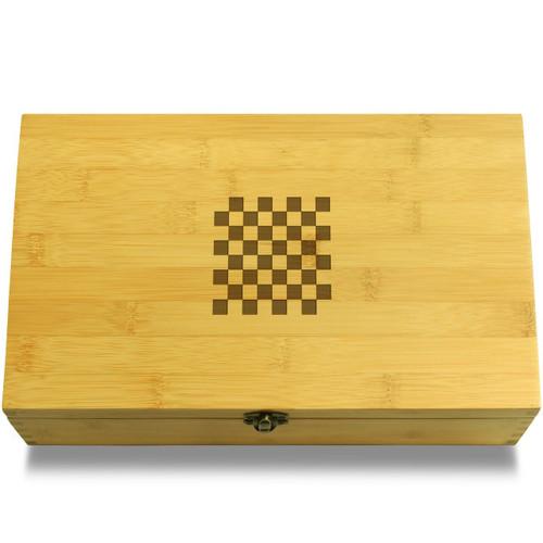 Checkerboard Box Lid