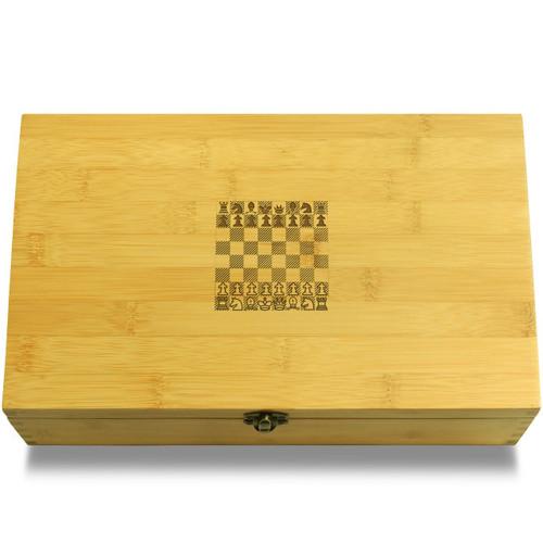 Chess Layout Organizer Box Lid