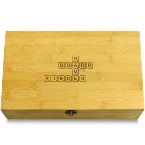 Scrabble Board Games Organizer Chest Lid