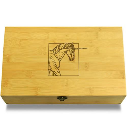 Realistic Unicorn Box Lid
