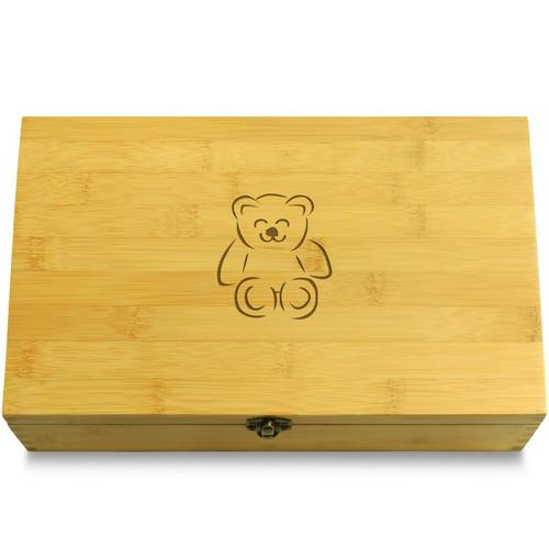 Teddy Bear Organizer Box Lid
