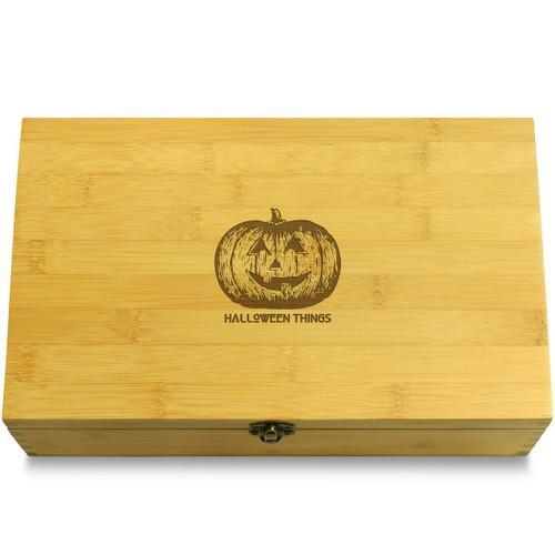 Jack-o-lantern Organizer Box Lid
