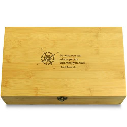 RooseveltCompass Wooden Box Lid