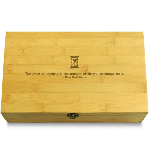 ThoreauPrice Wooden Chest Lid