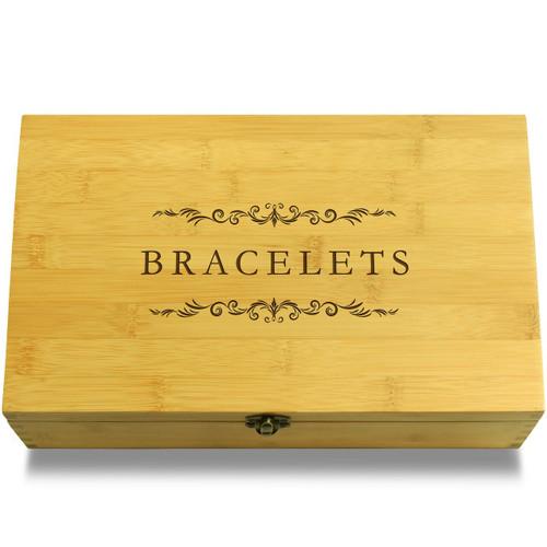 Bracelets Wooden Box Lid