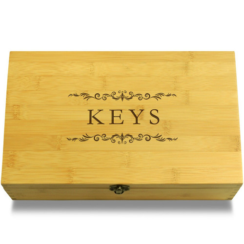Keys Filigree Organizer Lid