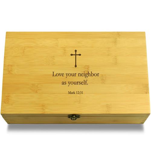 Love neighbor Box Lid