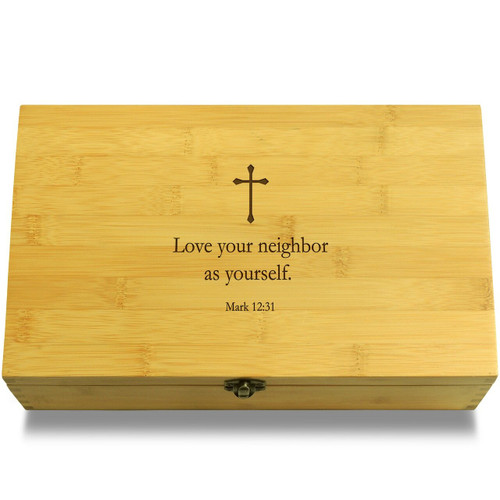 Love neighbor Box Lid