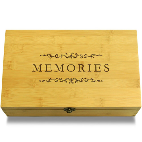 Memories Filigree Organizer Chest Lid