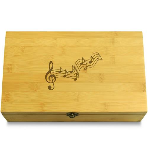 Musical Notes Organizer Box Lid