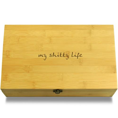 My &*@! Life Multikeep Box Bamboo Chest