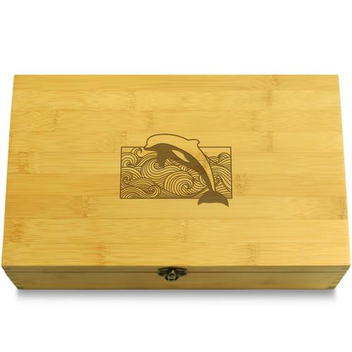 Dolphin Jump Organizer Box Lid