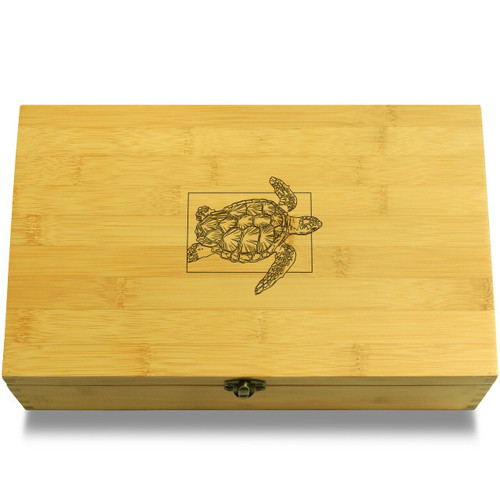 Sea Turtle Wooden Box Lid